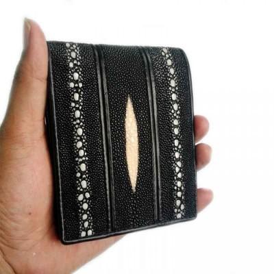 dompet-pria-kulit-asli-ikan-pari-duri-double-model-bifold-warna-hitam