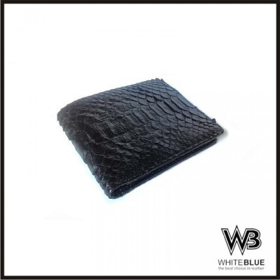 dompet-pria-kulit-asli-ular-phyton-model-bifold-warna-hitam