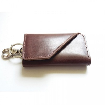 dompet-stnk-kulit-asli-sapi-warna-coklat-tua-model-lipat-tiga-gantungan-kunci-mobil