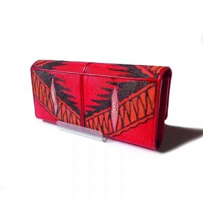 dompet-wanita-kulit-asli-ikan-pari-finishing-lukis-tangan-dompet-pari