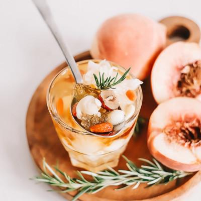 peach-gum-dessert