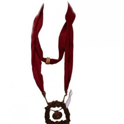 kalung-hijab-etnik-kalung-tali-gamelan-gong-kayu-kalung-syal-rayon-maron-195-gesyal