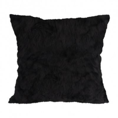 black-mini-fur-cushion-40-x-40