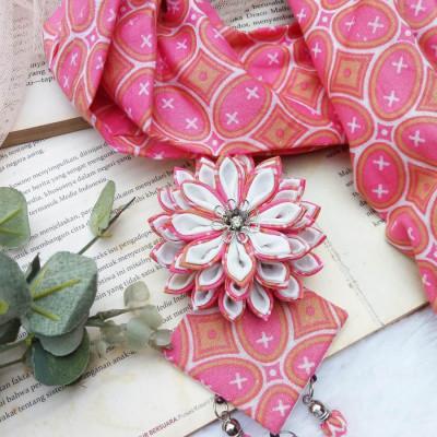kalung-batik-scarf-lotus-pink