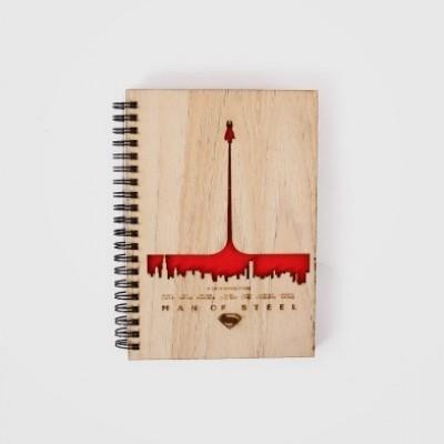 man-of-steel-wooden-notebook
