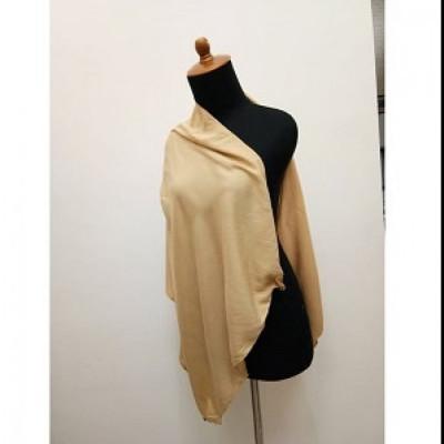 gesyal-syal-travelling-wanita-katun-rayon-polos-scarf-kuning-mustard