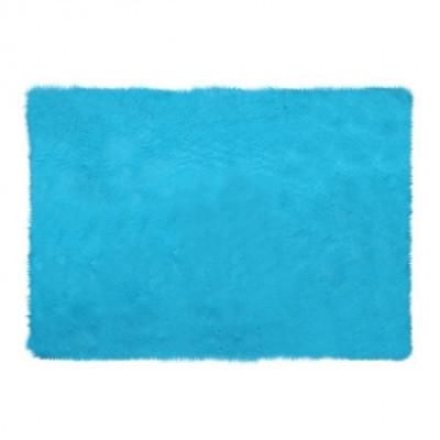 square-blue-mint-fur-rug-200-x-150
