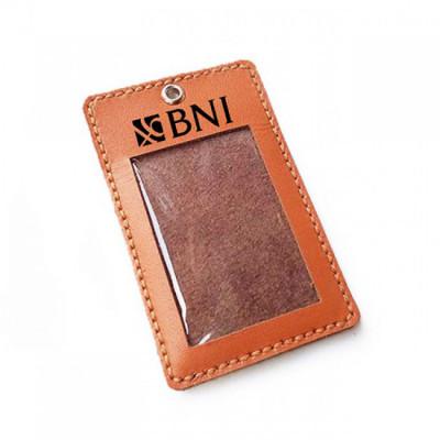name-tag-kulit-asli-logo-bank-bni-warna-tan-garansi-1-tahun-tali-id-card.-gantungan-id-card-
