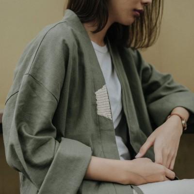 kimono-green