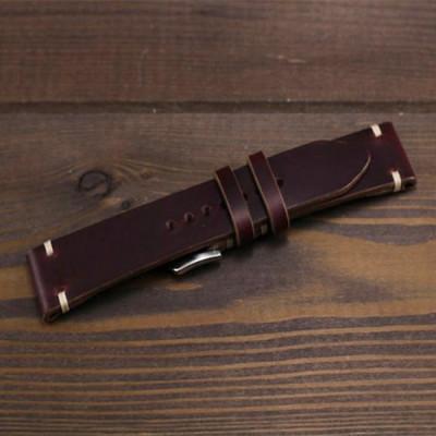 tali-jam-tangan-kulit-asli-sapi-crazy-horse-garansi-1-tahun-coklat
