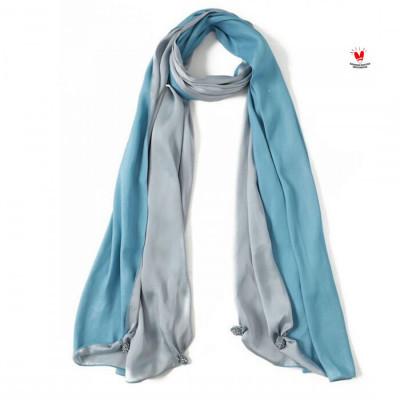 gesyal-syal-scarf-satin-bolak-balik-silver-biru-bahan-minim-setrika-tidak-mudah-kusut