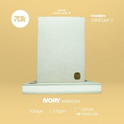 ivory-watercolor-handmade-sketchbook