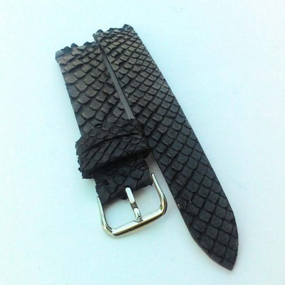 tali-jam-tangan-kulit-asli-ular-phyton-warna-hitam-strap-jam-tangan