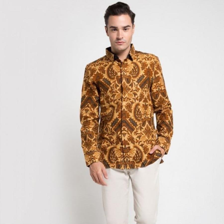 [Arthesian] Kemeja Batik Pria - Sanur Batik Printing