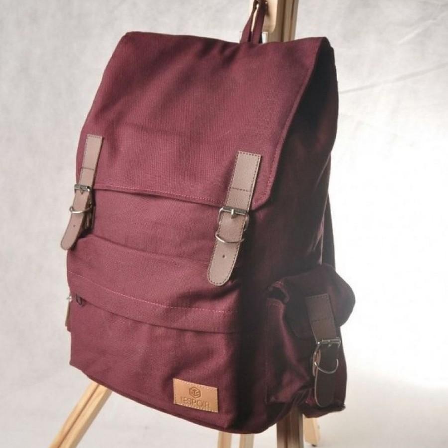Espoir  Backpack Maroon